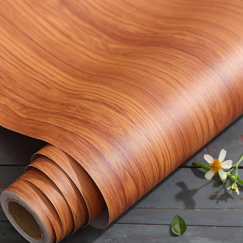Fantasnight 40X300cm Papel Adhesivo para Muebles Pegatinas Madera Vinilo Decorativo Autoadhesivo Impermeable Prueba de Aceite Impermeable Papel Pared para La Cocina Encimera Gabinete: Amazon.es: Hogar