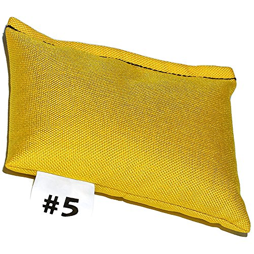 (DIPNDIVE LSW05-YL HD Cordura Pouch Weights - 5 pounds - Soft Weight - Yellow)
