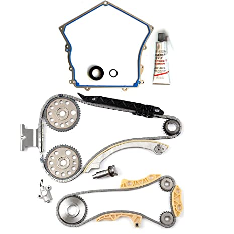 Amazon com: ECCPP Engine Timing Chain Kit Cover Gasket Set