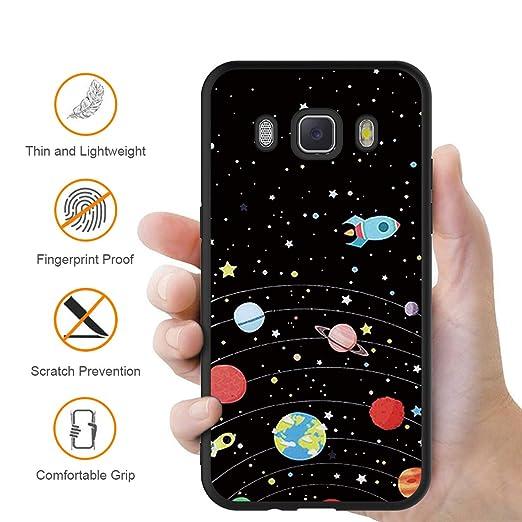 ZhuoFan Funda Samsung Galaxy J7 2016 Cárcasa Silicona Ultrafina ...