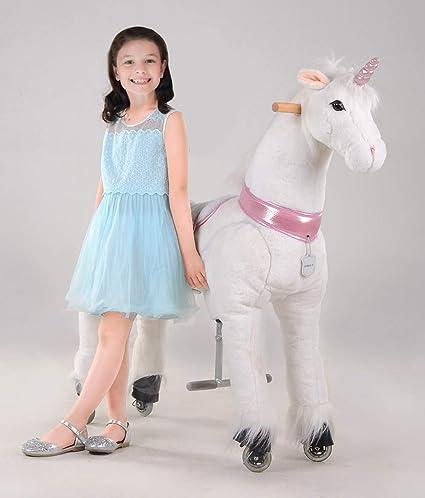 UFREE Horse Best Birthday Gift For GirlsAction Pony Toy Rocking Large