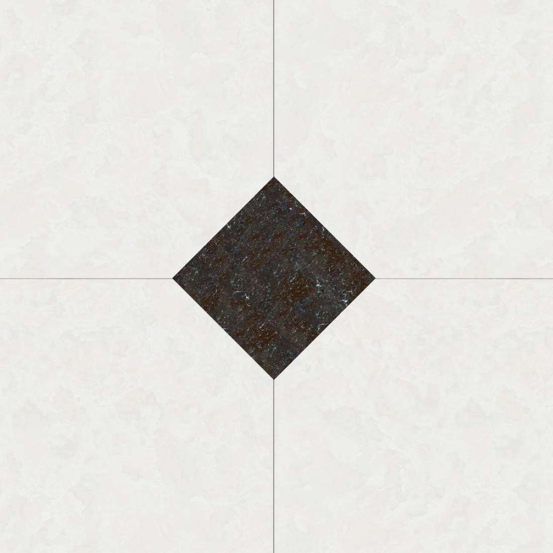Kingko Self Adhesive Vinyl Floor Tiles Marble Design Kitchen