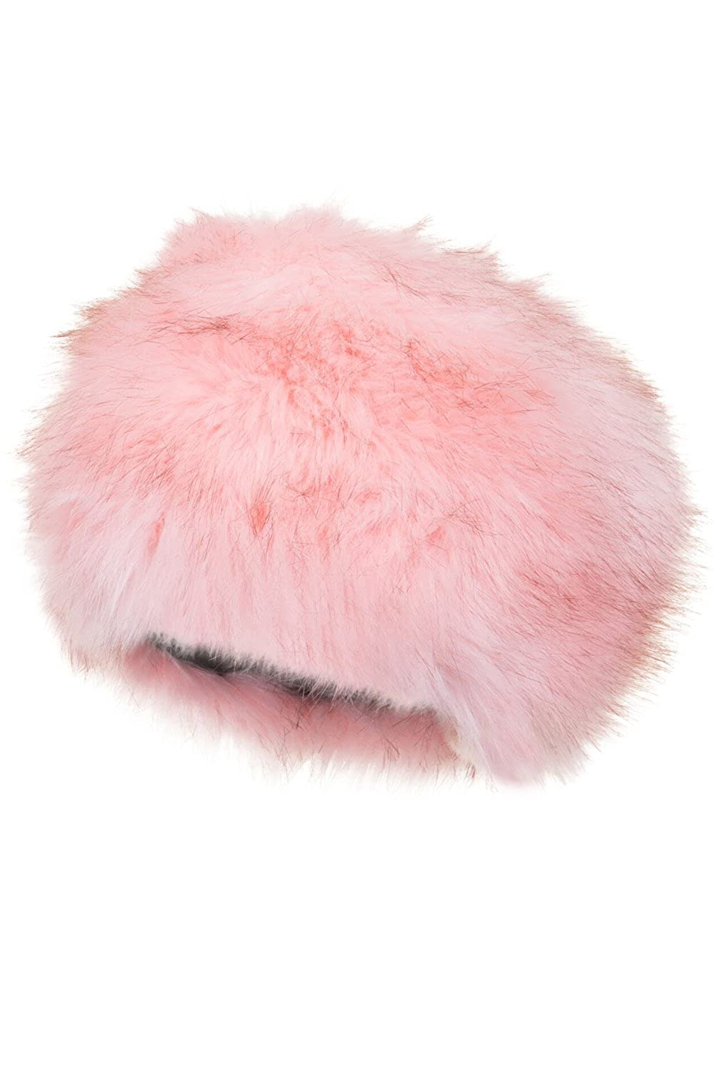 Boutique Kids Faux Fur cossack Quilted Lining Winter Hat