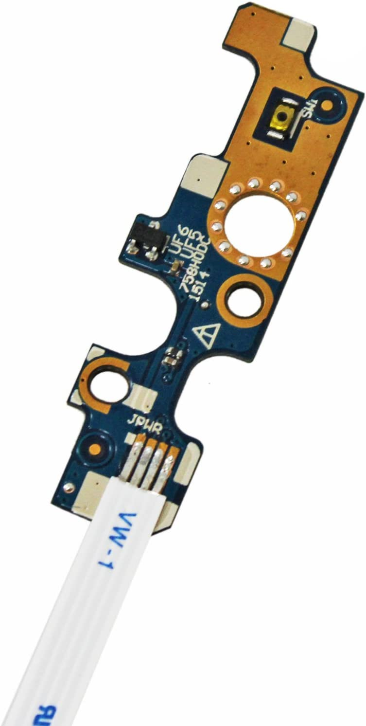 Gintai Power Switch Button Board Cable Replacement For Dell Inspiron 14 15 17 5755 5758 5769 5455 5558