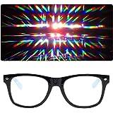 EmazingLights Diffraction Light Prism Rave Glasses