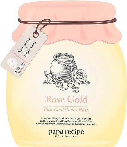 Papa Recipe Bombee Rose Gold Honey Mask 5 Pack, Mascarilla Facial ...