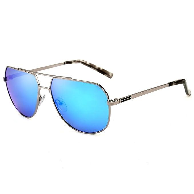 Gafas de sol deportivas, Shinetime Gafas de sol de diseñador Polarizadas Bueno para conducir Pesca
