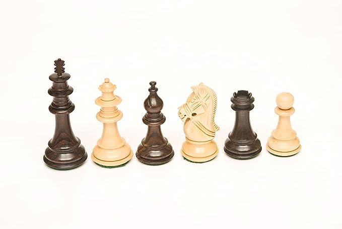 113 Rosewood & Boxwood 4.25 Chess Set