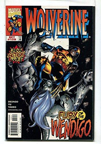 Wolverine #129 NM Fury Of The Wendigo Marvel Comics CBX1V