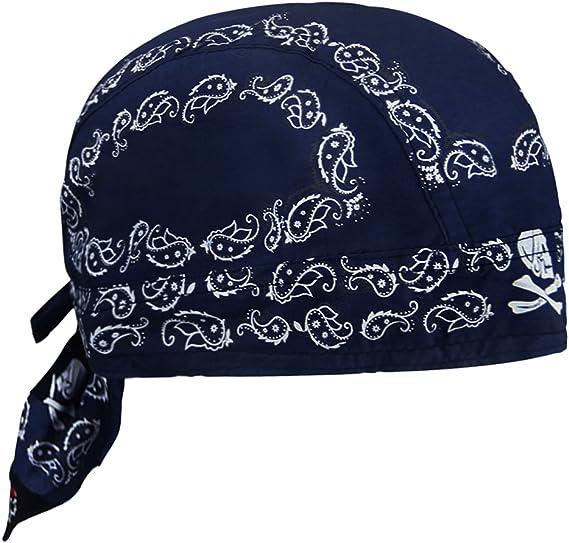 Ruixib Sports Bandana Cap Herren Piratentuch Damen Baumwolle Kopftuch Hut Hip Hop Cap Outdoor Stirnband Uv Schutz Mütze Für Fahrrad Radsport Motorrad Bekleidung