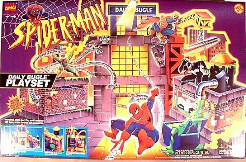 Spider-Man: The Animated Series - Daily Bugle Playset