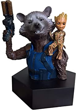 Rocket Gardiens de la Galaxie Figurine Groot Tête 16 cm