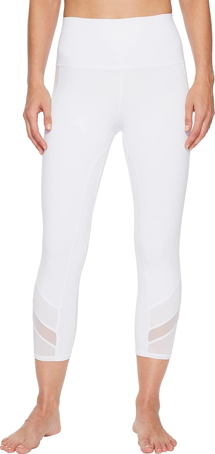 2dcd749ae01ae0 ALO Women's High-Waist Elevate Capris White Large 20 20 at Amazon Women's  Clothing store: