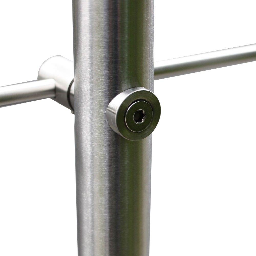 SAILUN 80cm pasamanos barandillas acero inoxidable,para escaleras,barandilla,balc/ón
