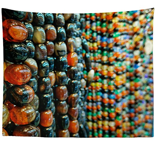 - Westlake Art - Chocolate Bead - Wall Hanging Tapestry - Picture Photography Artwork Home Decor Living Room - 68x80 Inch (A769B)
