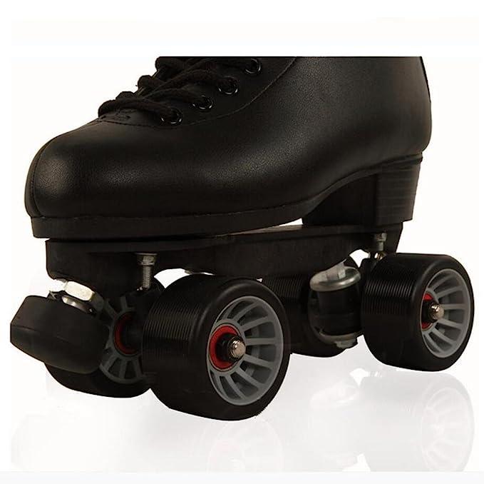 Rollschuhe Indooroutdoor High Für Skates Quad Leder Roller Top Zzy jSzMpGLqUV