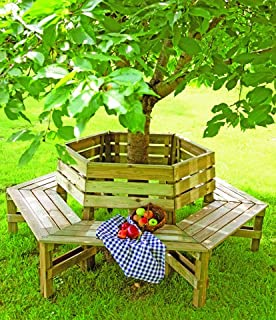 tree seats garden furniture. wooden tree bench 360 seats garden furniture