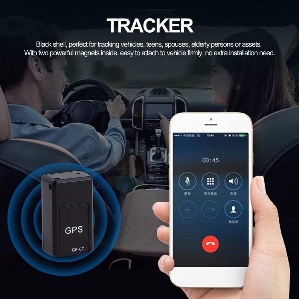 2020 Nuevo GF07 Mini rastreador de Coche magnético GPS localizador de Seguimiento en Tiempo Real Dispositivo GPS rastreador magnético localizador de vehículo en Tiempo Real
