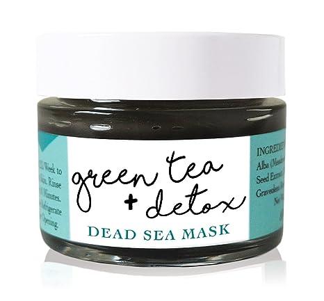 Despierto orgánicos té verde + Detox Máscara. 100% natural máscara ...