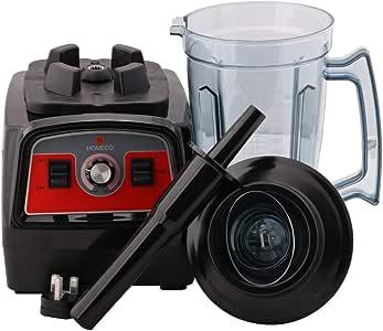Homeco Electric  Blender Stanless steel , Black Color  07-99-13-0100