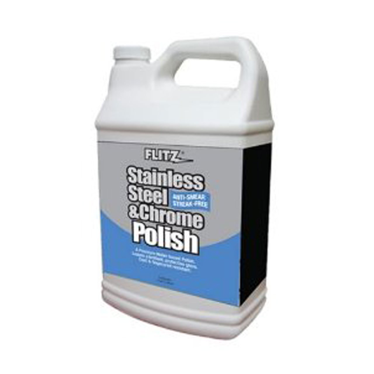 Flitz SS 01310 Stainless Steel and Chrome Polish, 1-Gallon, Small