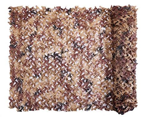 Camo Netting, Camouflage Net Desert Digital 5 X 26 FT Nets Lightweight Durable for Sunshade Decoration Hunting Blind ()