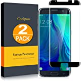 [2 Pack]Samsung Galaxy S7 Edge Screen Protector Tempered Glass [Case Friendly][Anti Scratch][3D Curved][3d Full Coverage][HD