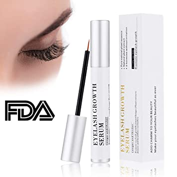 72051e00e28 Amazon.com: Kndio Eyelash Enhancer Serum, Eyelash Growth Serum Natural Super  Beauty Eyelashes Liquid for Longer, Thicker, Fuller Eyelash 5ml: Beauty