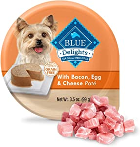 BLUE DIVINE DELIGHTS Beef Egg Bacon Cheese Wet Dog Food BITE 3.5 OZ - 0840243120571