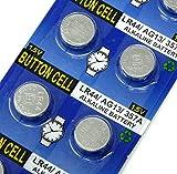 Rayverstar LR44 AG13 1.55 Volt Alkaline Battery, 20 Batteries. Fits: A76, L1154F, L1154, 357A, 157, 303/357, SR44, SR44SW, EPX76, PX76, PX76A, Hexbug Compatible