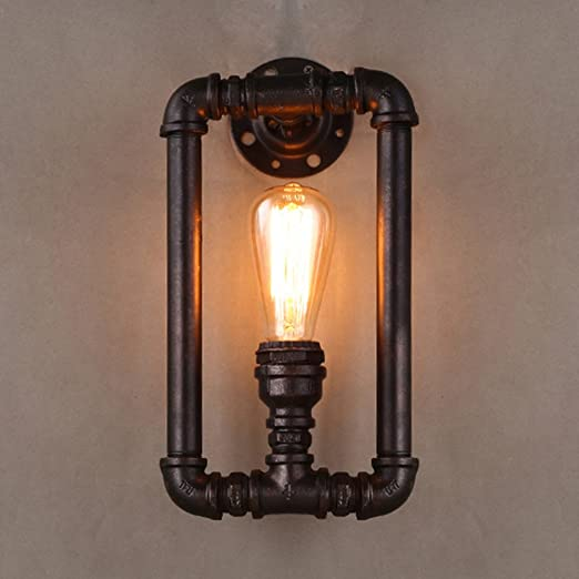 retro lighting. BAYCHEER Industrial Steampunk Wall Sconce Lights Pipe Lamp Retro Light Lighting T