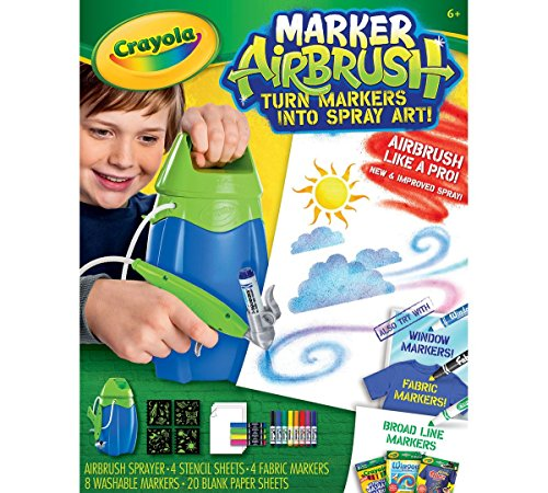 Price comparison product image Crayola Marker Airbrush Set