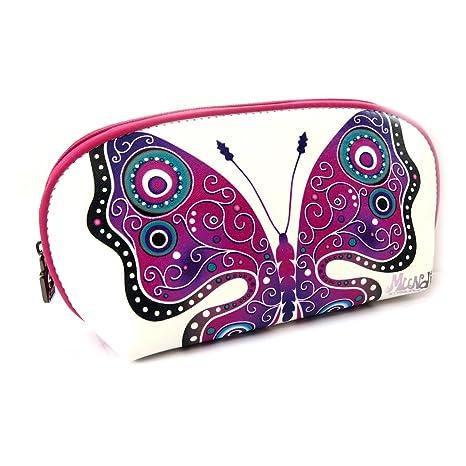 Monedero con cremallera Mundivioleta (mariposa).: Amazon ...
