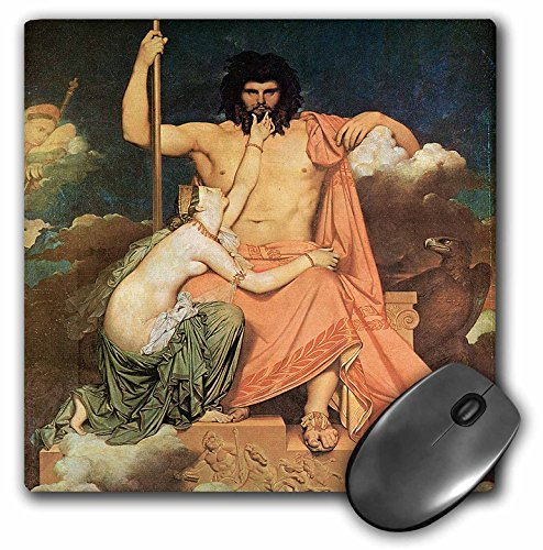 3dRose BLN Paintings of Love Fine Art Collection - Jupiter and Thetis by Jean-Auguste-Dominique Ingres - MousePad (mp_127170_1)