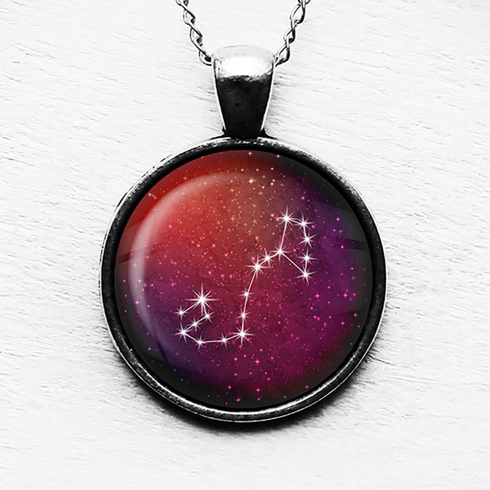 Zodiac Symbol Astrology Scorpio Stars Pendant /& Necklace