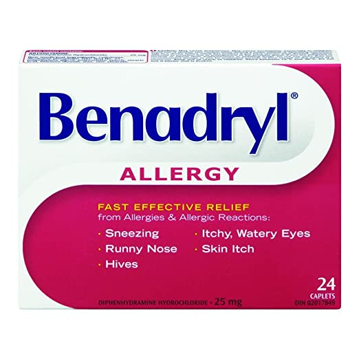 Allergy Relief 24 Caplets