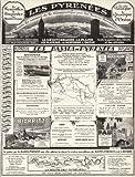 1926 Ad Print France Les Pyrenees Bayonne Biarritz Pau Touristic Destinations