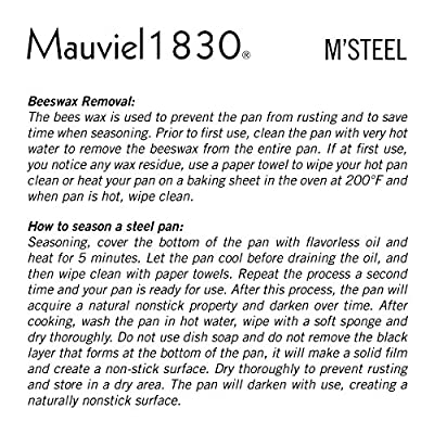 Mauviel M'steel Frying Pan