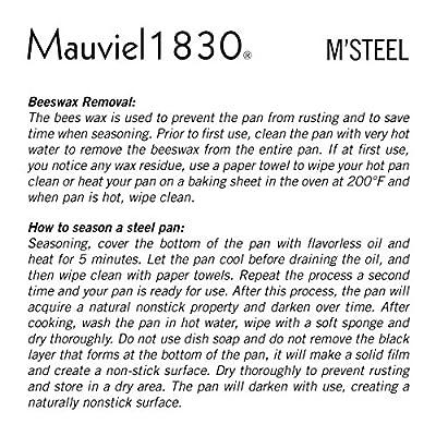 Mauviel M'steel Crepe Pan