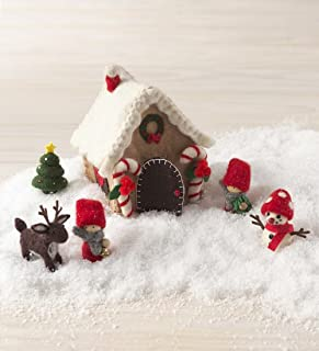 product image for Magic Cabin Felt Holiday House Play Set