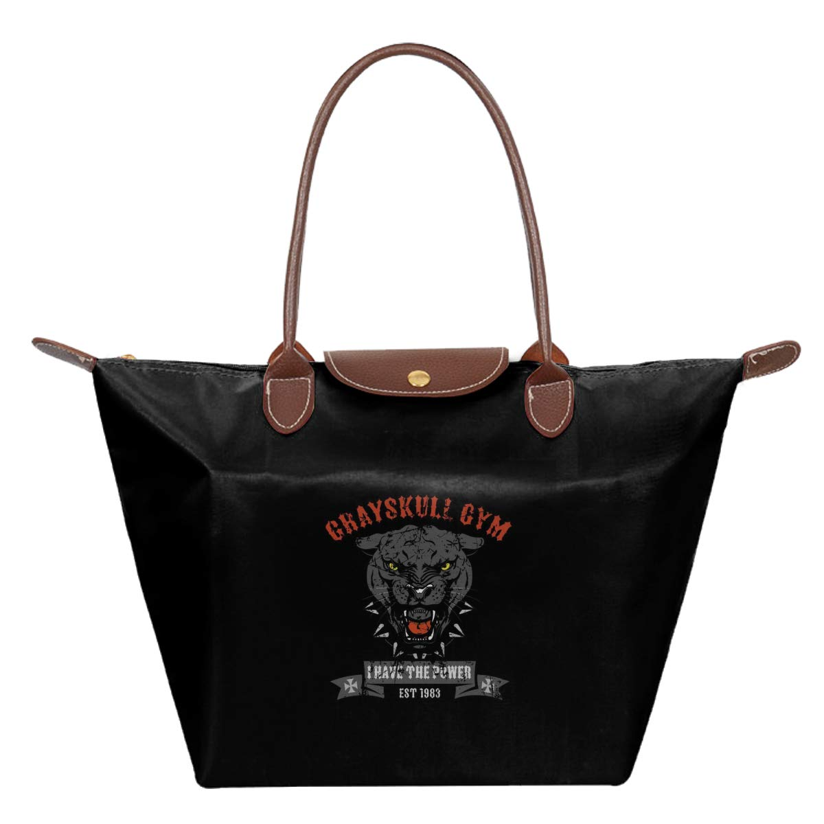 He Man Grayskull Gym Waterproof Leather Folded Messenger Nylon Bag Travel Tote Hopping Folding School Handbags