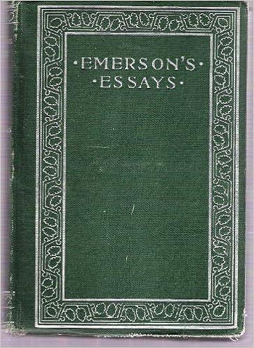 Emmersons essays mba innovation essay