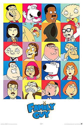 Family Guy Collage Adult Animated Comedy Humor TV Television