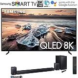 Samsung QN65Q900RB 65-inch Q900 QLED Smart 8K UHD TV (2019 Model) Bundle 510W 7.1.4-Channel Soundbar System with…
