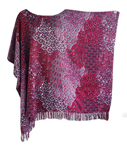 trendyloosefit-plus-size-loose-fit-tops-beach-cover-ups-one-size-bust-70-burgundy