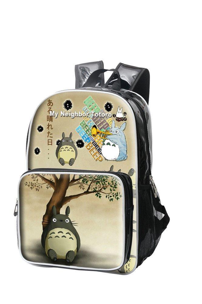 Siawasey My Neighbor Totoro Anime Cosplay Messneger Bag Backpack Shoulder School Bag