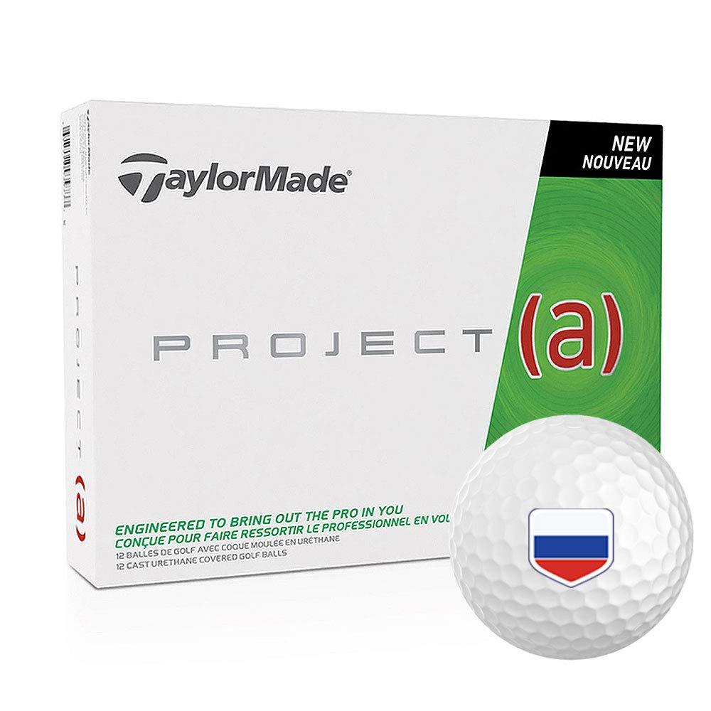 テーラーメイドプロジェクトA Personalized National Flagロゴゴルフボール  ロシア B07C11NF15