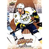Mike Fisher Hockey Card 2016-17 Upper Deck MVP #143 Mike Fisher