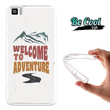 BeCool Fun - Funda Gel Flexible para Bq Aquaris M5.5 .Carcasa TPU Fabricada con la Mejor Silicona, Protege y se Adapta a la Perfección a tu Smartphone ...