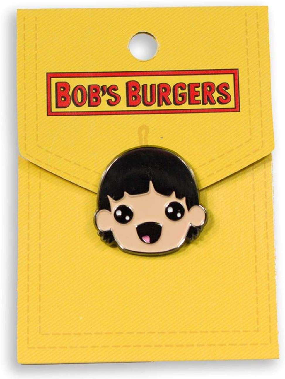 Ripple Junction Bobs Burgers Stylized Gene Enamel Pin